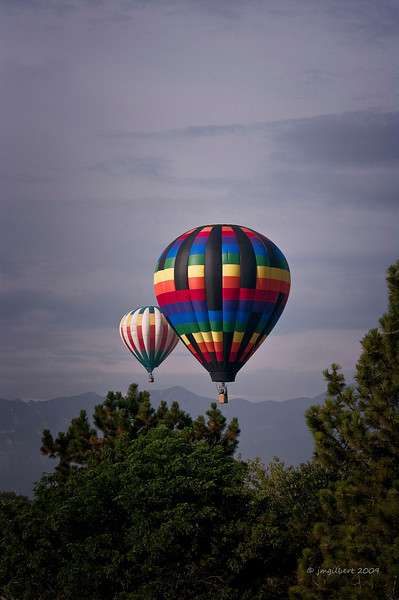 Annual Balloon Festival held in Colorado Spring