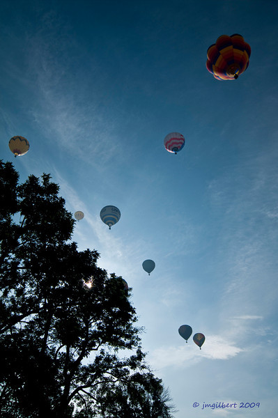 Annual Balloon Festival held in Colorado Spring.