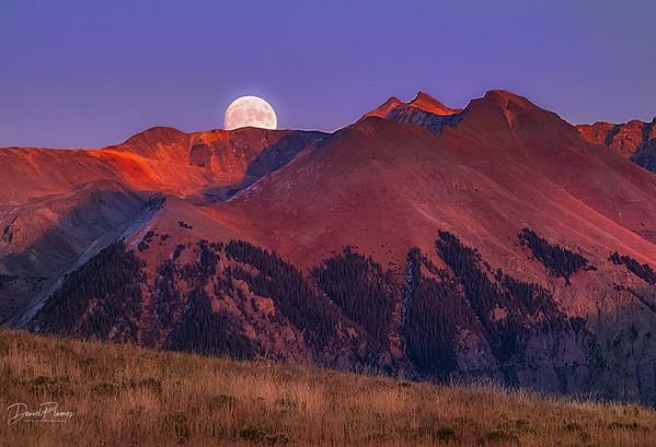Telluride Moonrise