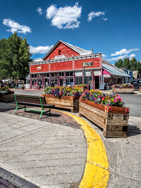 The Grubstake Building, Crested Butte, Gunnison Co., CO
