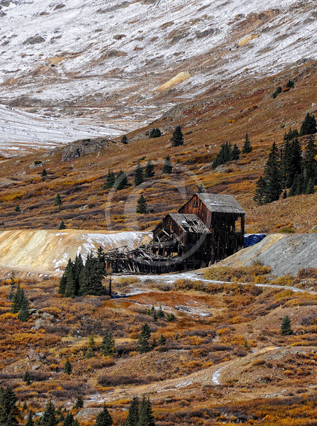 Old mine in Colorado