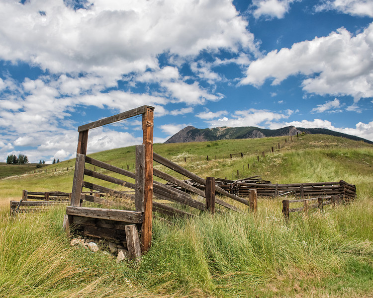 Cattle Ramp - Crested Butte, Gunnison Co., CO