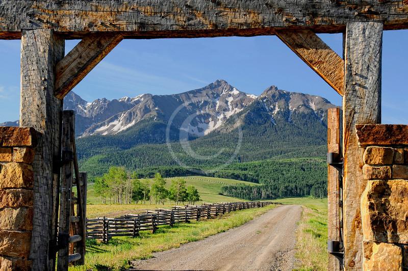 Last Dollar Ranch near Ridgway Colorado