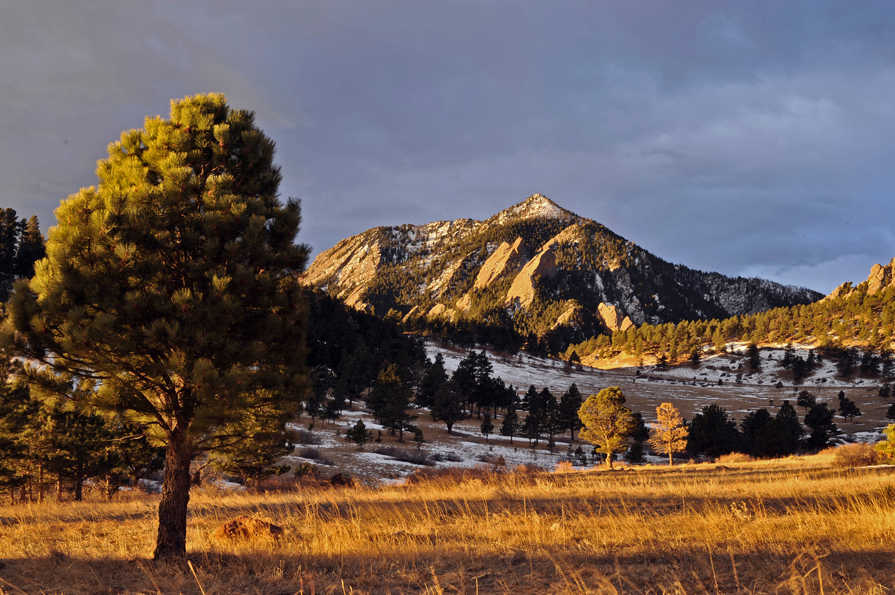 Sunrise from near NCAR