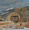 Old railroad bridge near Ridgway Colorado