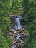 Highway 550 waterfall -- Colorado