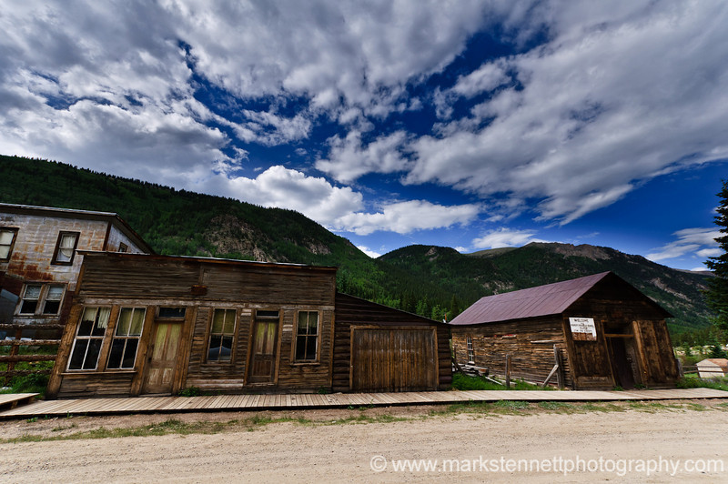 St. Elmo Ghost Town in Colorado