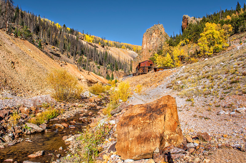 Ameythyst Mine Site - Bachelor Loop, Creede, Mineral Co., CO