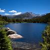 Beautiful High Mountain Lake