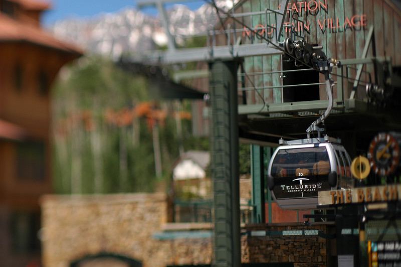 Ski Lift, Telluirde, CO.  June