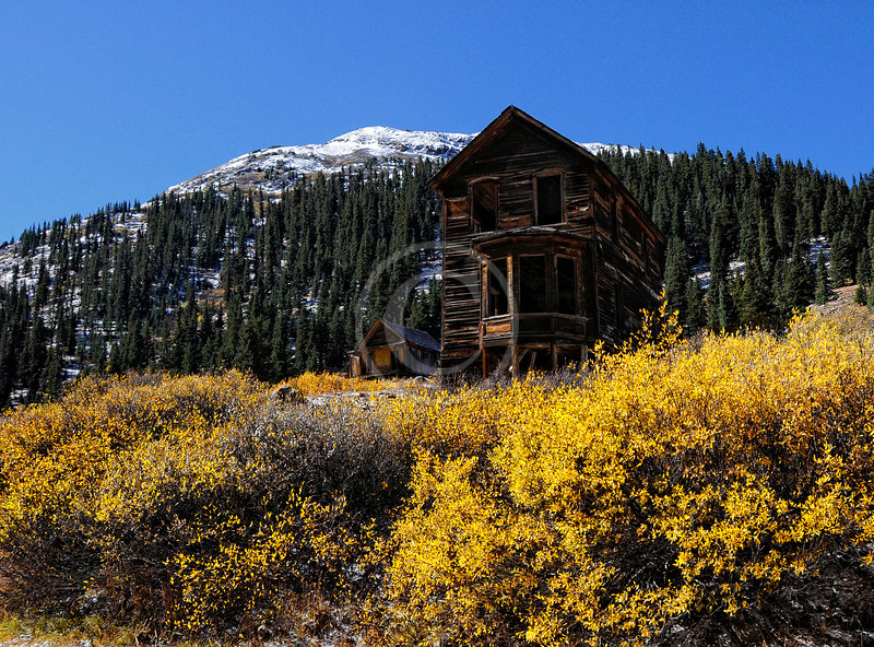 Walsh house in Animas Forks Colorado