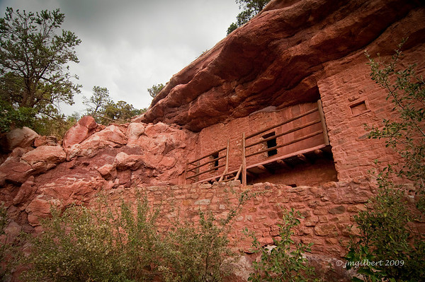 Manitou Cliff Dwellings.