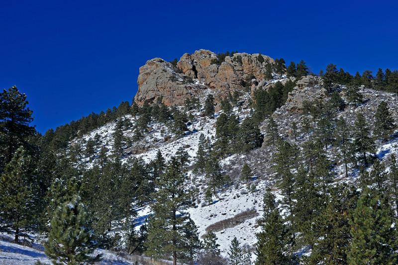 Arthur's Rock, Lory State Park