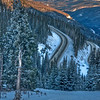 """Dawn Stair-Step"" - HDR - US 40, Berthoud Pass, CO"
