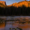 *Nymph Lake Sunrise*<br /> <br /> This one is back from my colorado trip in last month.. Hike to this lake was simple but early morning temprature of 25F ( -3 C ), wind 0f 25 MPH and starting elevation of 9500 Ft made it interesting..