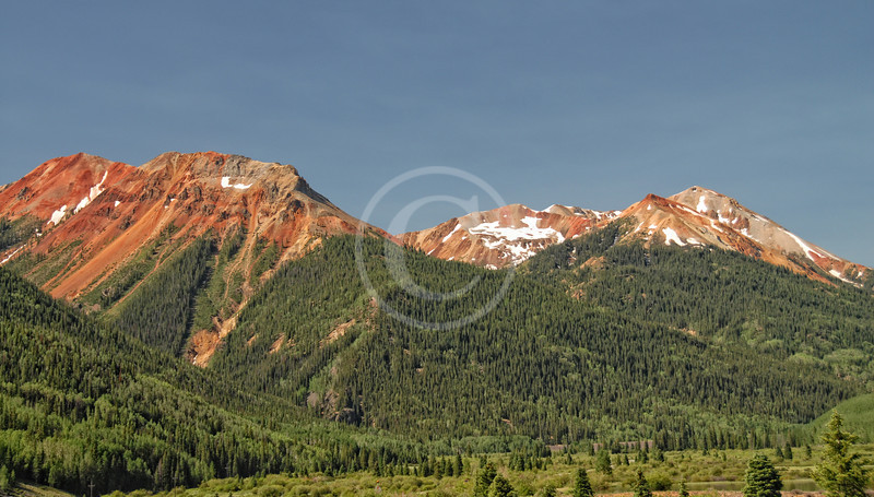 Red Mountain near Ouray Colorado