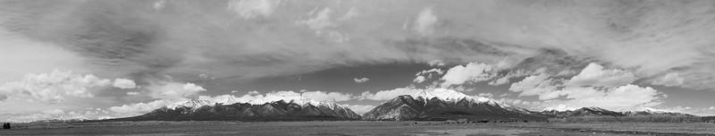 Mount Antero and Mount Princeton