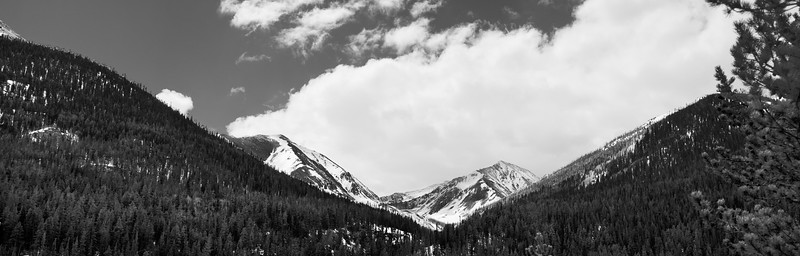Grays Peak and Torreys Peak