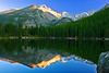Colorado, Rocky Mountain National Park, Bear Lake, Reflection, senset, Landscape, 科罗拉多 洛矶山 秋色, 风景