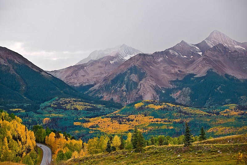 Colorado, Rocky, Telluride, San Juan Mountain, Fall Colors, Foliage, Landscape, 科罗拉多 洛矶山 秋色, 风景