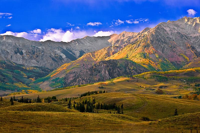 Colorado, Rocky, Telluride, San Juan Mountain, Fall Colors, Foliage, Landscape, 科罗拉多 洛矶山 秋色, 风景