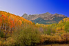 Colorado, Mountain Sneffels, San Juan, Rocky, Fall Colors, Foliage Landscape,  科罗拉多 洛矶山 秋色, 风景