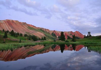 Red Mountain Dawn