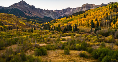 Diffused Light over the San Juan Mountains