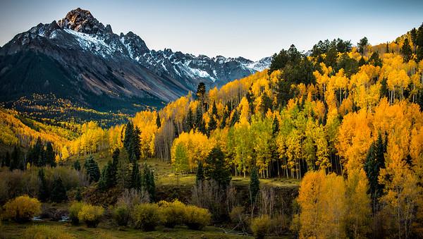 Mt Sneffels in Fall Colour