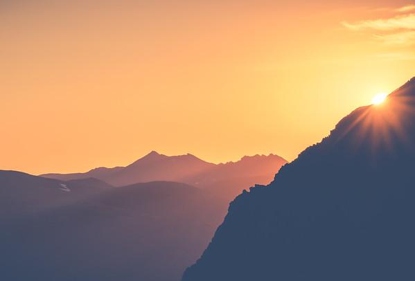 Rockies Alpenglow