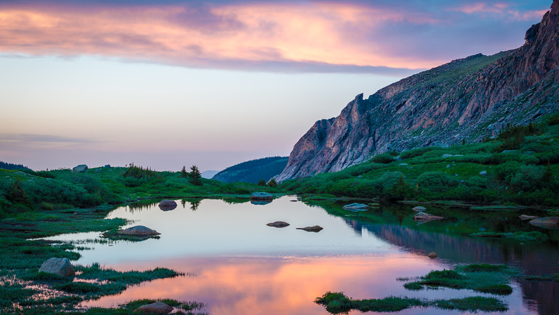 Colorado's Colourful Chicago Lakes