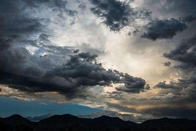 Brewing Storm, Colorado River Valley
