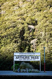 Arthur's Pass Railway Station