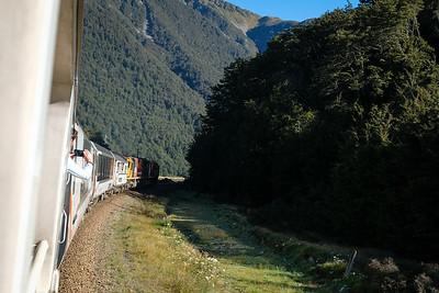 Transalpine Train on the South Island of New Zealand