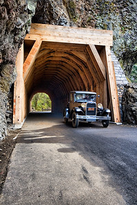 Model A at Oneonta Gorge Tunnel    Sigma 10-20mm f/4-5.6 EX DC HSM