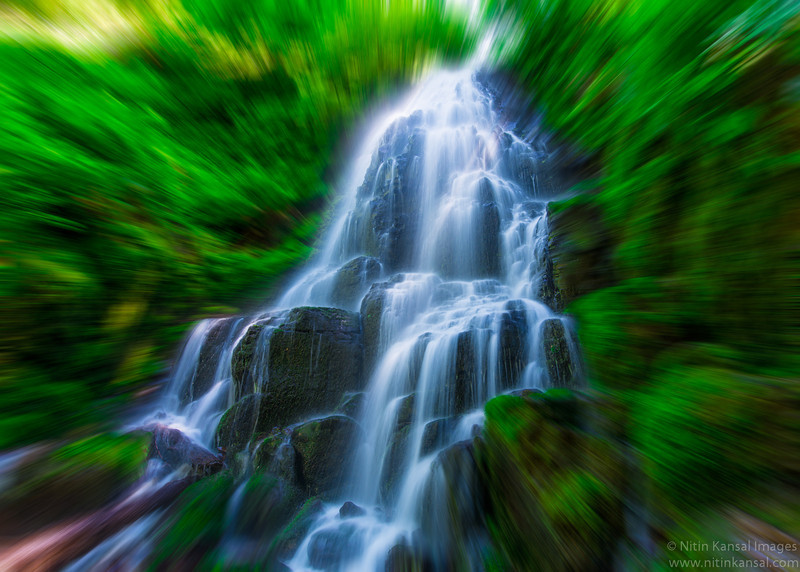Fairy Falls in Motion