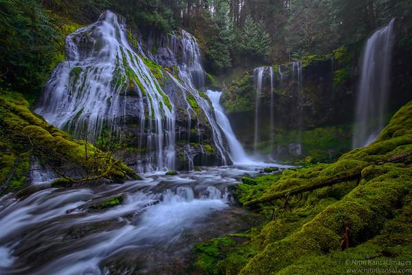 """Mist Machine"" a.k.a Panther Creek falls"