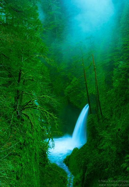 Matlako Falls in Spring