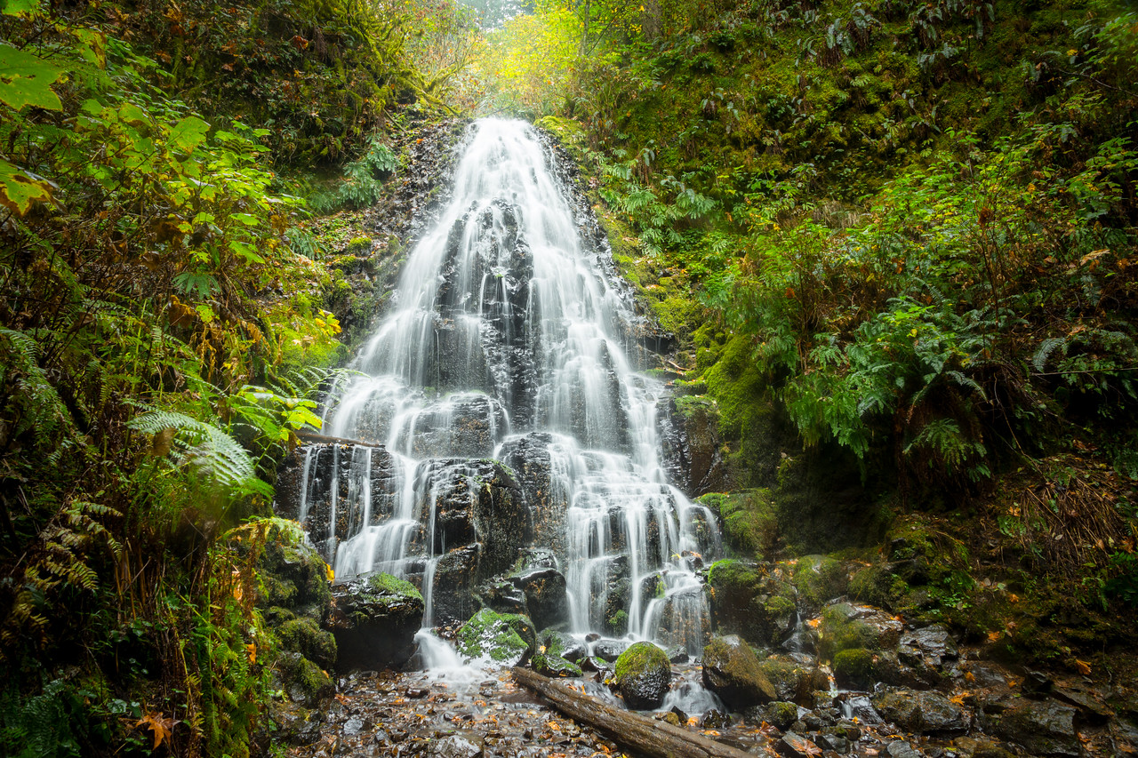 Fairy Falls in the Columbia River Gorge