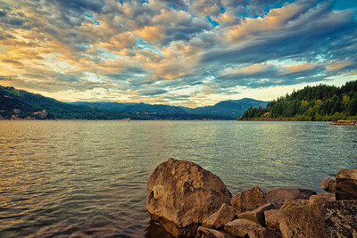 """""""Queen of the West"""" -  Paddleboat on the Columbia River Gorge, California"""