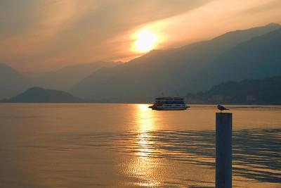 Sunset Over Como