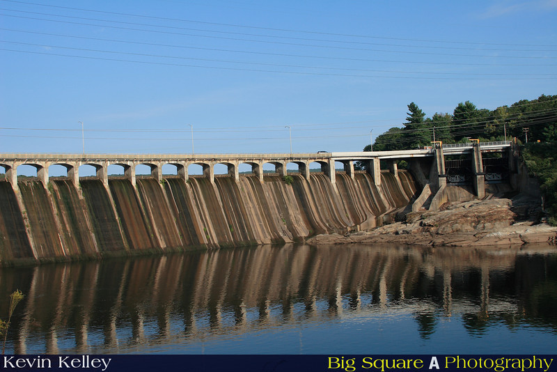 Stevenson Dam on the Housatonic River Monroe, CT