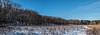 Dow Prairie, looking westward - panorama
