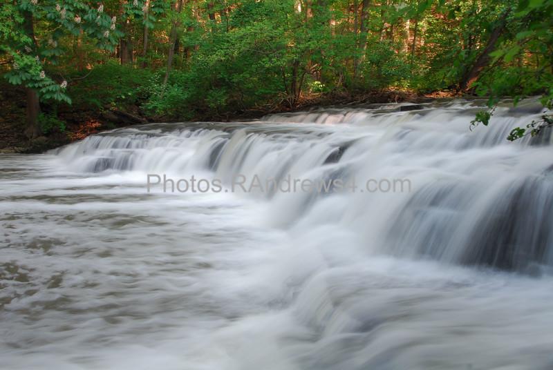 Post Card Falls in Corbett's Glen, Rochester, NY 20110524