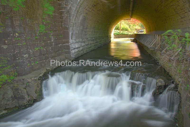 Corbett's Glen Tunnel Falls