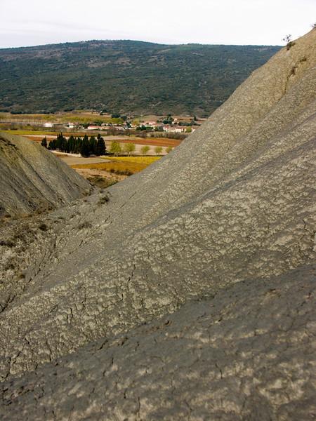 Pradelles-en-Val, blue marls, Ypresian, Eocene<br /> Konica Minolta Dimage A2