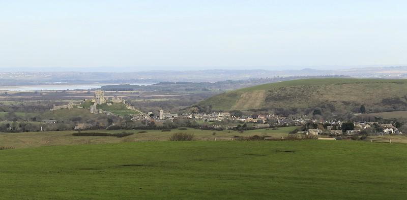 Corfe Castle - Dorset (January 2016)