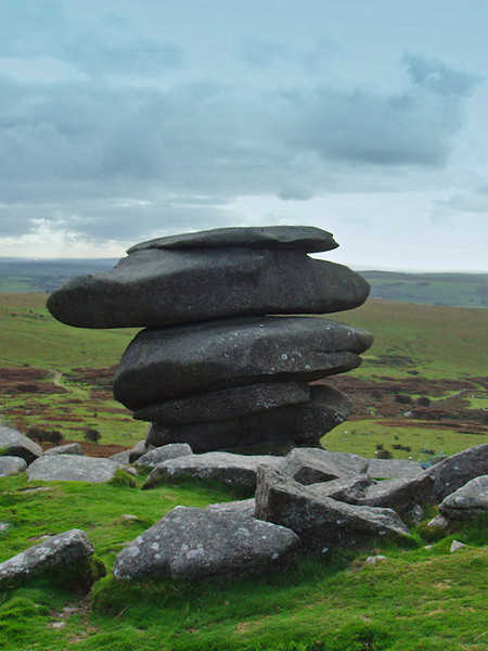 "the ""Cheesewring"", Bodmin Moor"