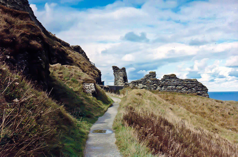 Ascent to Tintagel Castle