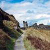 Ascent to Tintagel Castle
